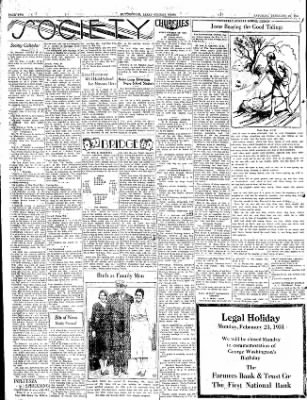 The Courier News from Blytheville, Arkansas on February 21, 1931 · Page 2