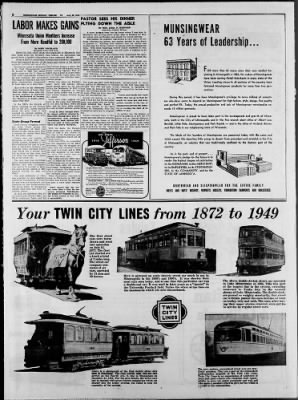 Star Tribune from Minneapolis, Minnesota on August 28, 1949 · Page 40