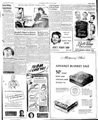 The Courier News from Blytheville, Arkansas on May 6, 1947 · Page 3