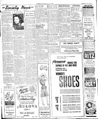 The Courier News from Blytheville, Arkansas on May 6, 1947 · Page 4