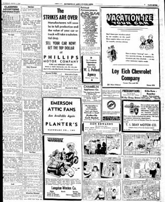 The Courier News from Blytheville, Arkansas on June 4, 1946 · Page 9