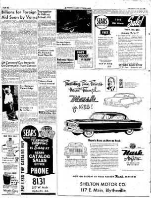 The Courier News from Blytheville, Arkansas on January 15, 1953 · Page 6