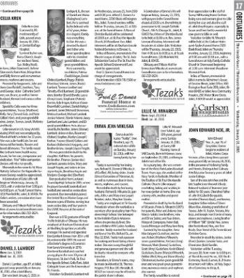 Herald News from Joliet, Illinois on January 21, 2015 · Page 17