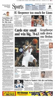 The Courier-Journal from Louisville, Kentucky on January 14, 2007 · Page C1