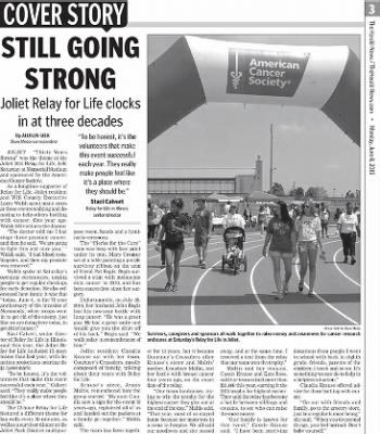 Herald News from Joliet, Illinois on June 8, 2015 · Page 3