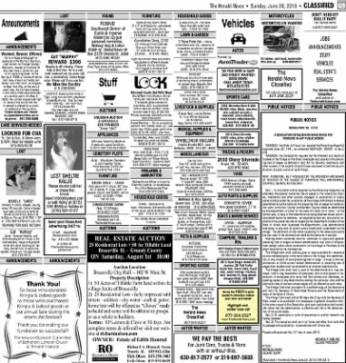 Herald News from Joliet, Illinois on June 28, 2015 · Page 69