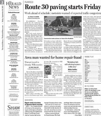Herald News from Joliet, Illinois on September 18, 2015 · Page 2