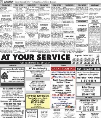 Herald News from Joliet, Illinois on October 6, 2015 · Page 62