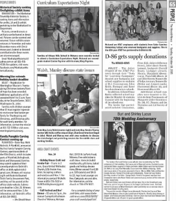 Herald News from Joliet, Illinois on October 18, 2015 · Page 65