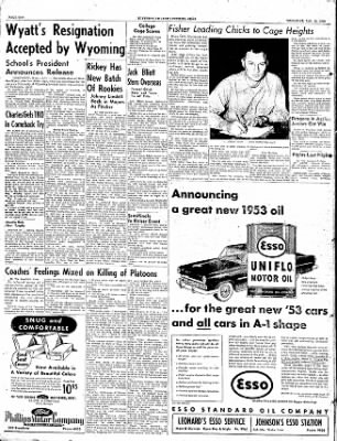 The Courier News from Blytheville, Arkansas on January 15, 1953 · Page 12