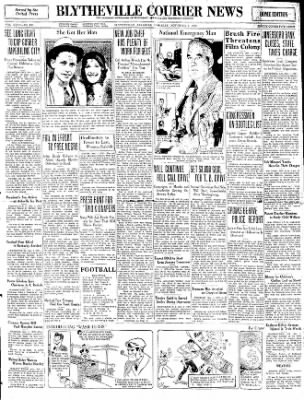 The Courier News from Blytheville, Arkansas on November 1, 1930 · Page 1