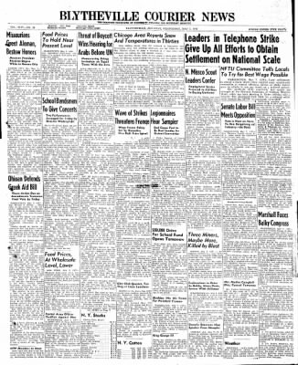 The Courier News from Blytheville, Arkansas on May 7, 1947 · Page 1