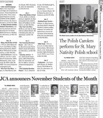 Herald News from Joliet, Illinois on December 31, 2015 · Page 29