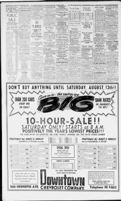 Star Tribune from Minneapolis, Minnesota on August 11, 1961 · Page 34