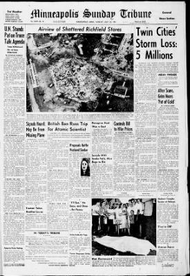 Star Tribune from Minneapolis, Minnesota on July 22, 1951 · Page 1