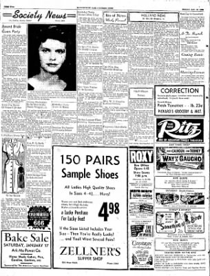 The Courier News from Blytheville, Arkansas on January 16, 1953 · Page 2