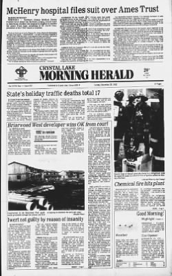 The Herald from Crystal Lake, Illinois on December 28, 1982 · Page 1