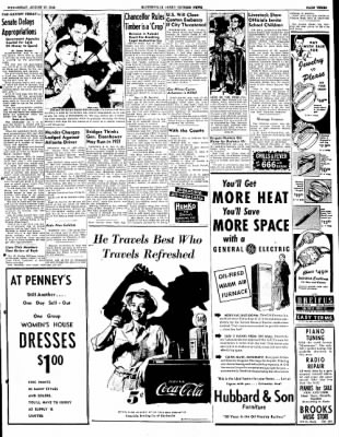 The Courier News from Blytheville, Arkansas on August 17, 1949 · Page 3