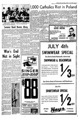 The Courier News from Blytheville, Arkansas on June 27, 1966 · Page 5