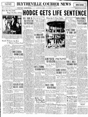The Courier News from Blytheville, Arkansas on November 4, 1930 · Page 1