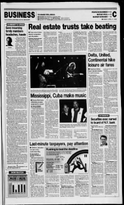 Clarion-Ledger from Jackson, Mississippi on April 11, 1999 · Page 25
