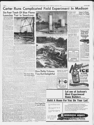 Clarion-Ledger from Jackson, Mississippi on August 22, 1954 · Page 8