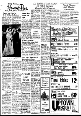 The Ludington Daily News from Ludington, Michigan on December 3, 1969 · Page 1