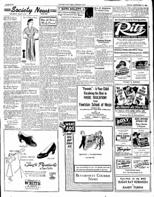 The Courier News from Blytheville, Arkansas on September 14, 1951 · Page 4