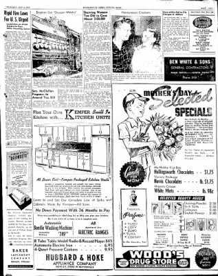 The Courier News from Blytheville, Arkansas on May 8, 1947 · Page 9