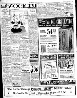 The Courier News from Blytheville, Arkansas on October 3, 1939 · Page 2