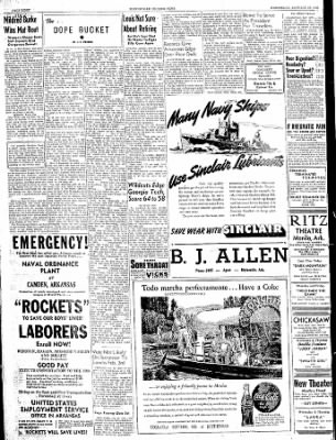 The Courier News from Blytheville, Arkansas on January 24, 1945 · Page 8