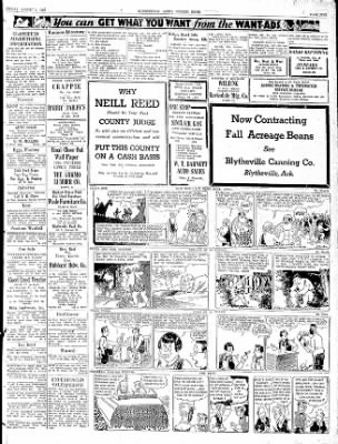 The Courier News from Blytheville, Arkansas on August 7, 1936 · Page 5