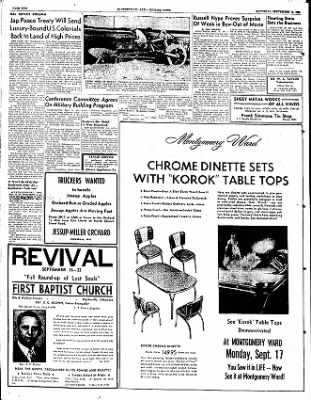 The Courier News from Blytheville, Arkansas on September 15, 1951 · Page 2