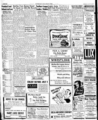The Courier News from Blytheville, Arkansas on June 10, 1946 · Page 6