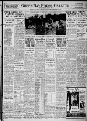 Green Bay Press-Gazette from Green Bay, Wisconsin on December 19, 1931 · Page 13