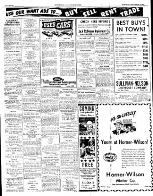 The Courier News from Blytheville, Arkansas on September 15, 1951 · Page 8