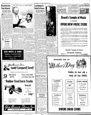 The Courier News from Blytheville, Arkansas on May 9, 1947 · Page 9