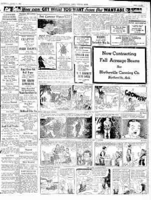 The Courier News from Blytheville, Arkansas on August 8, 1936 · Page 9