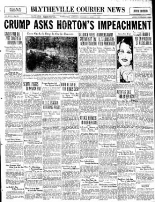 The Courier News from Blytheville, Arkansas on March 4, 1931 · Page 1
