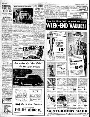 The Courier News from Blytheville, Arkansas on October 5, 1939 · Page 2