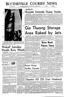 The Courier News from Blytheville, Arkansas on November 6, 1967 · Page 1