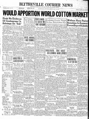 The Courier News from Blytheville, Arkansas on May 26, 1939 · Page 1