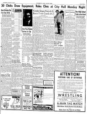 The Courier News from Blytheville, Arkansas on August 20, 1949 · Page 5