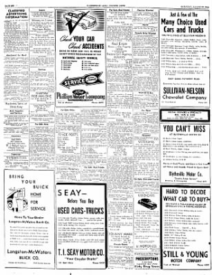 The Courier News from Blytheville, Arkansas on August 20, 1949 · Page 6