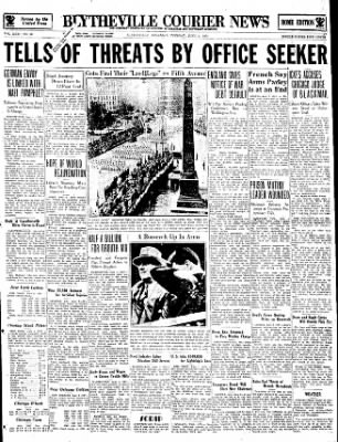 The Courier News from Blytheville, Arkansas on June 5, 1934 · Page 1