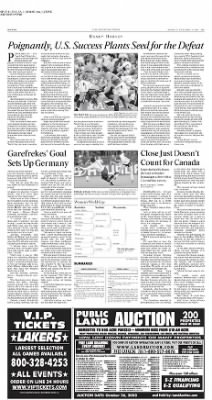 The Los Angeles Times from Los Angeles, California on October 6, 2003 · Page 47