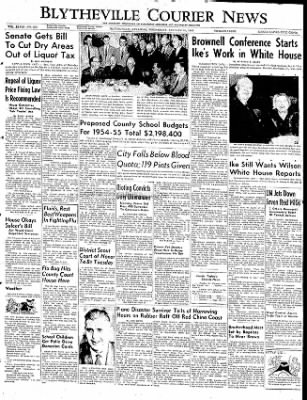The Courier News from Blytheville, Arkansas on January 21, 1953 · Page 1