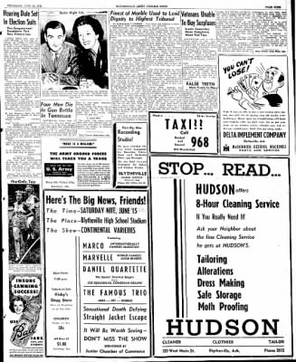 The Courier News from Blytheville, Arkansas on June 13, 1946 · Page 9