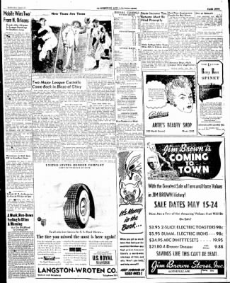 The Courier News from Blytheville, Arkansas on May 12, 1947 · Page 5