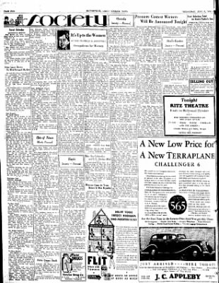 The Courier News from Blytheville, Arkansas on June 6, 1934 · Page 2